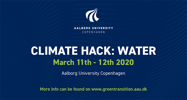 CONFERENCE: CLIMATE HACK: WATER